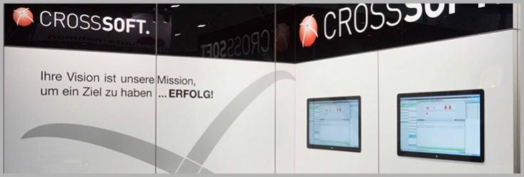 CROSSSOFT GmbH im neuen Messedesign
